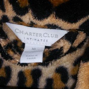 Charter Club Intimates & Sleepwear - Women's Full-length Plush Robe